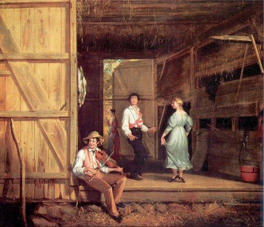 Dancing On The Barn Floor