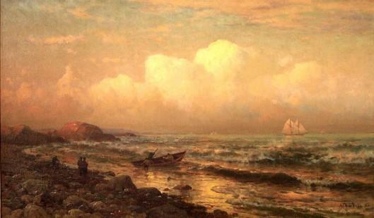 Along A Golden Shore