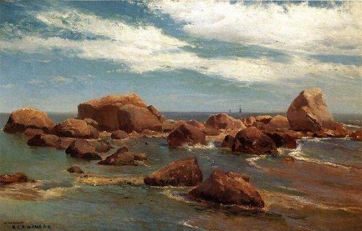 Coastal Scene - Rocky Coast