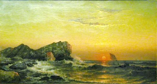 Sunset Off The Needles