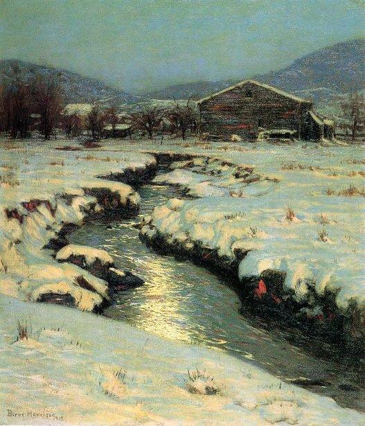 Woodstock Meadows In Winter