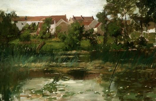 Landscape, Grez
