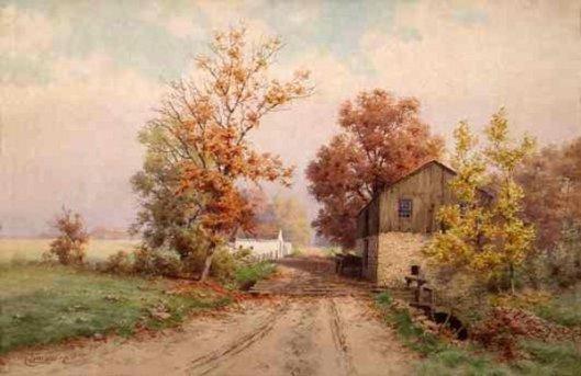 Virginia Road In October