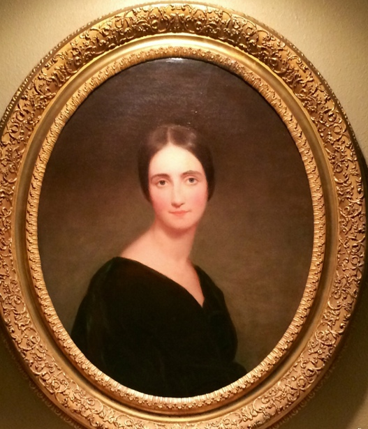 Sarah Shepard Cook Cushing (painting courtesy of Mr. Greg Downs)