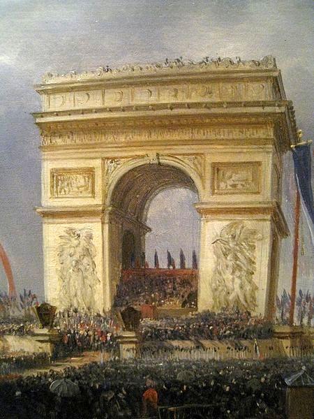 Feast Of Brotherhood, Place de l'Etoile, April 20th 1848