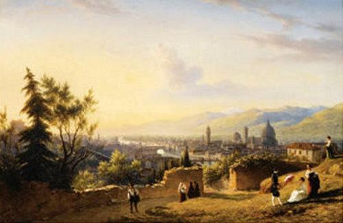 View Of Florence Taken From San Miniato Al Monte