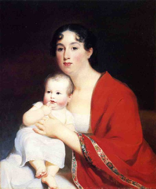 Madame Brujere And Child