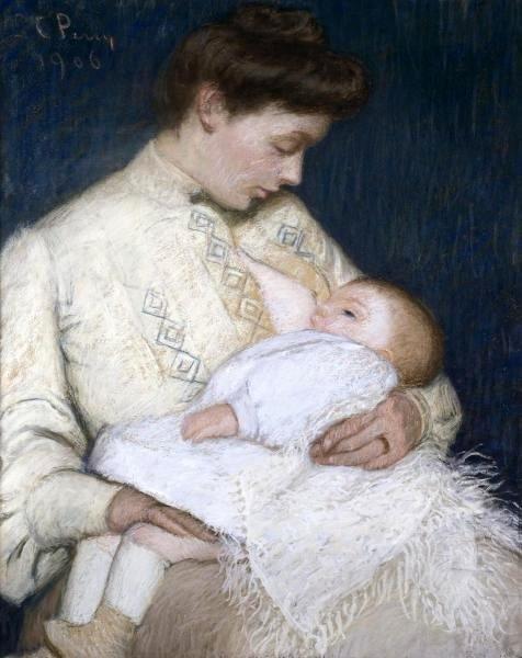 Nursing The Baby