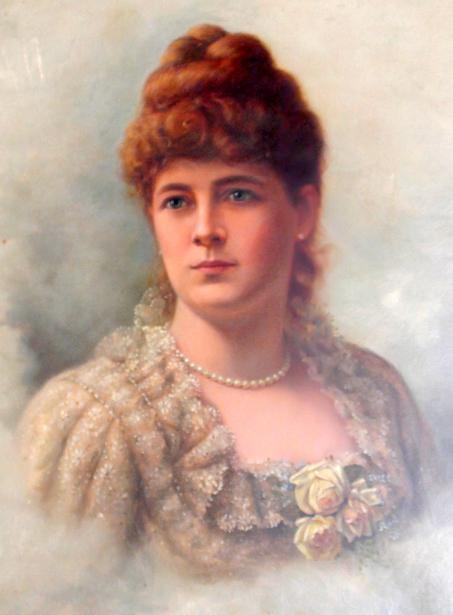 Sophie O'Fallon Cooper (the artist's sister)