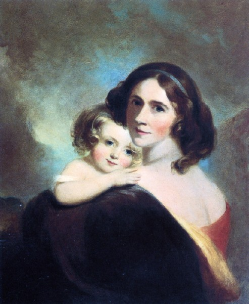 Mrs. Fitzgerald And Her Daughter Matilda
