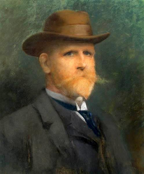Self-Portrait In A Felt Hat