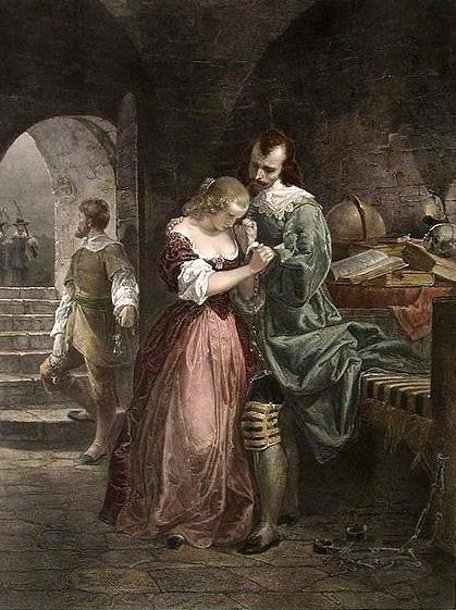 Sir Walter Raleigh Parting With His Wife