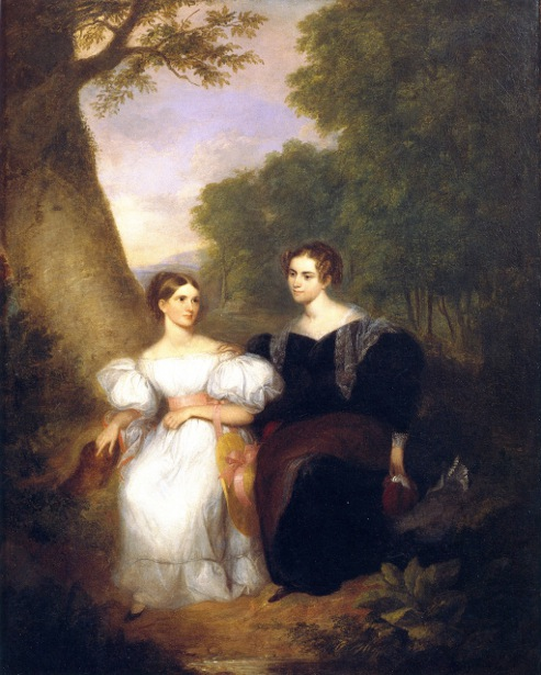 The Artist's Wife And Her Sister