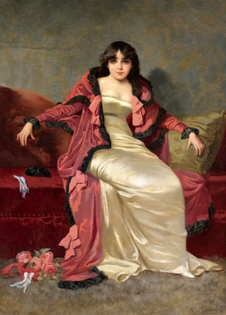 A Lady Of Elegance - Seated Lady
