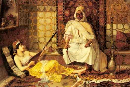 The Opium Den - Odalisque Playing Music