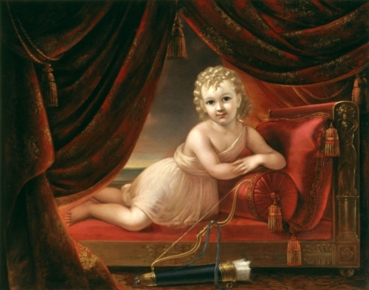 A Child As A Cupid