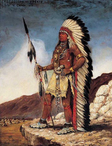 Chief Joseph Nez-Perce