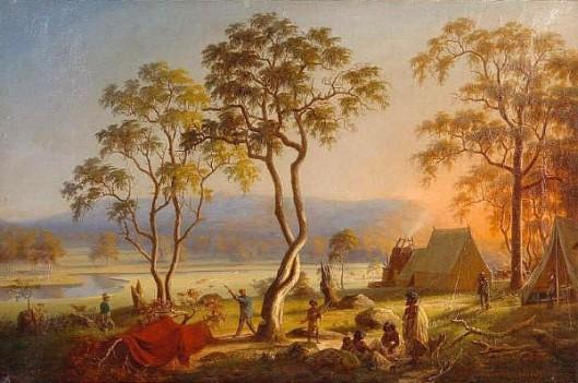 Mount Macedon And River Campaspe, Victoria, Australia