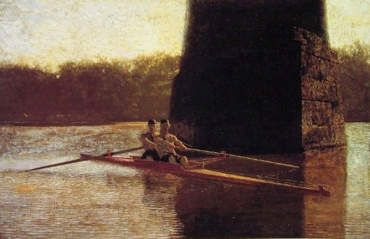 The Pair Oared Scull