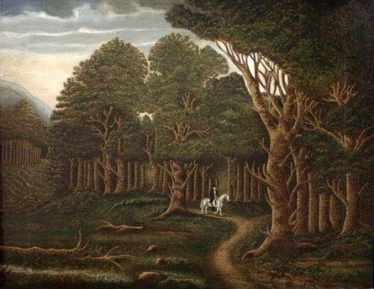 Through The Darkening Wood