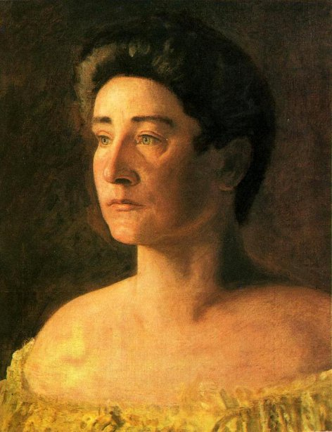 A Singer - Portrait Of Mrs. Leigo