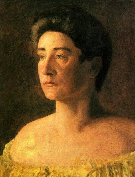 A Singer - Portrait Of Mrs. Leigo