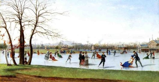Circle Of Skaters, Bois de Boulogne