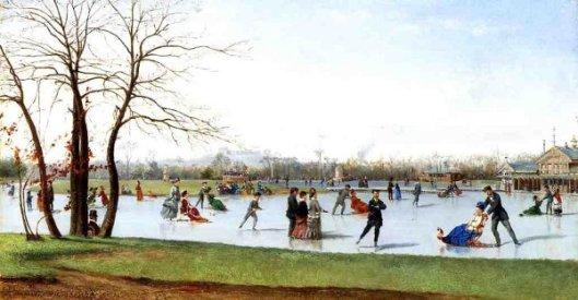 Circle Of Skaters, Bois de Boulogne