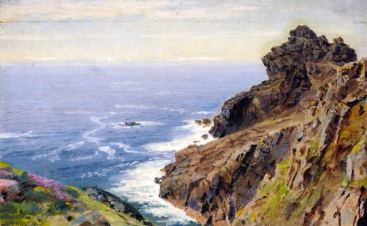 Coast Near Boscastle, Cornwall