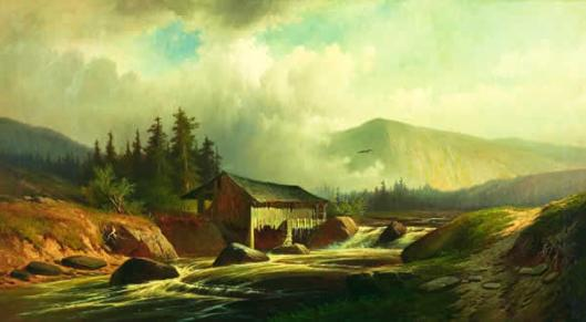 Landscape With Mill, Pennsylvania
