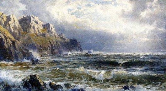Moye Point, Guernsey, Channel Islands
