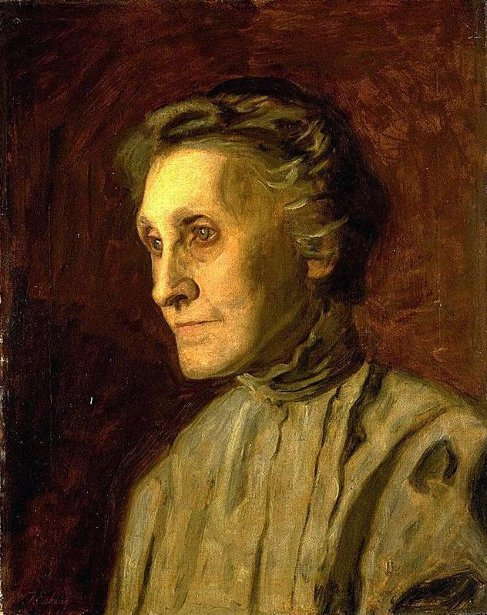 Mrs. Helen MacKnight - Portrait Of A Mother