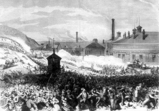 Railroad Strike Of 1877