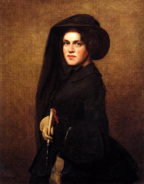 Sarah Osgood Johnson Newton (The Artist's Sister)