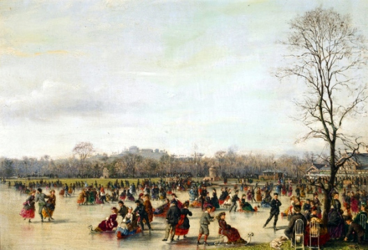 Skaters In The Bois de Boulogne