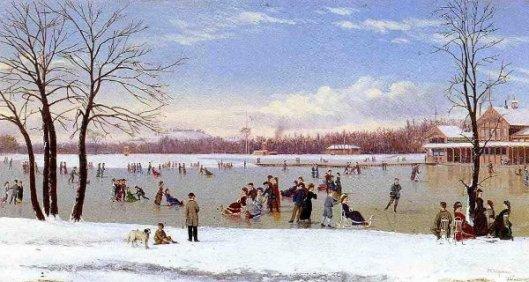 Skating In The Bois de Boulogne