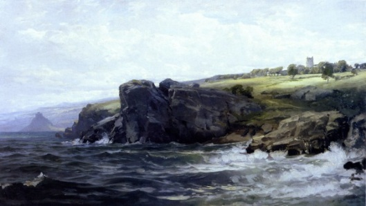 Tower On The Cornish Coast