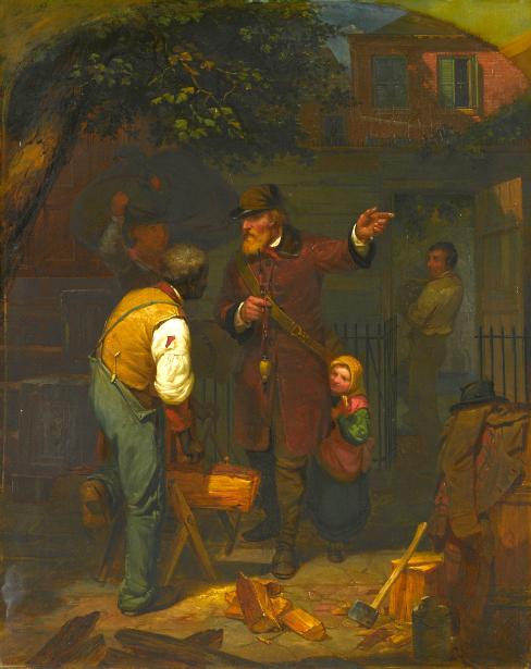A German Immigrant Inquiring His Way
