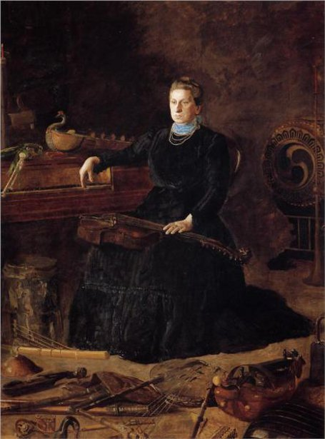 Antiquated Music - Mrs. William D. Frishmuth (Sarah Sagehorn Frishmuth)
