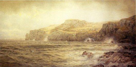Conanicut Island From Graycliff, Newport