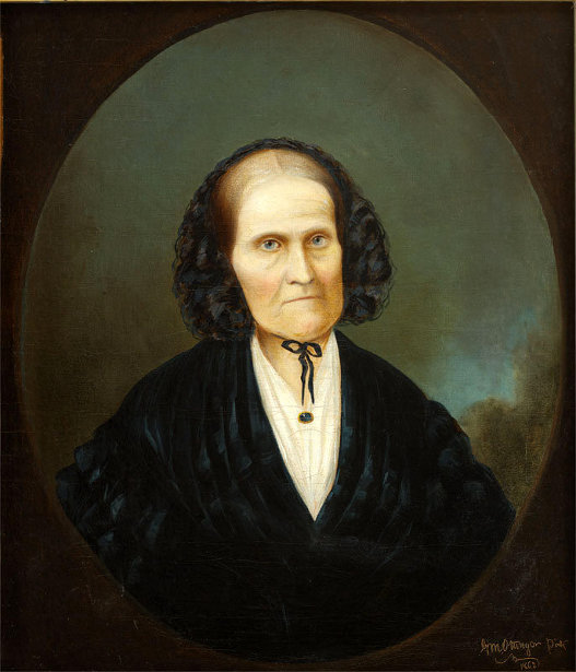 Eliza Thompson McAllister (The Artist's Mother-in-law)