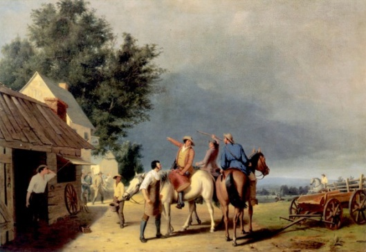 First News Of The Battle Of Lexington