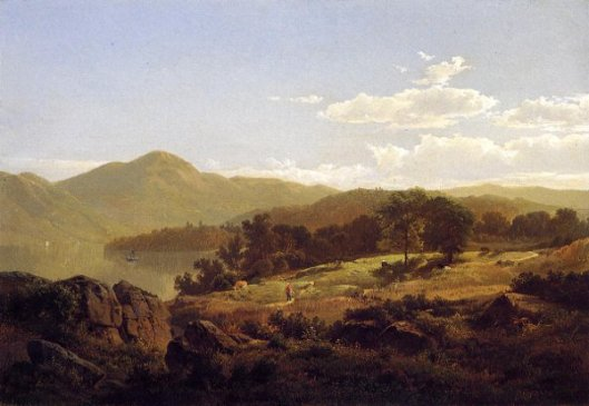 Lake George, Opposite Caldwell