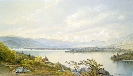 Lake Squam And The Sandwich Mountains