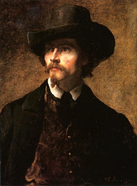 Man With Hat - Self Portrait 1853