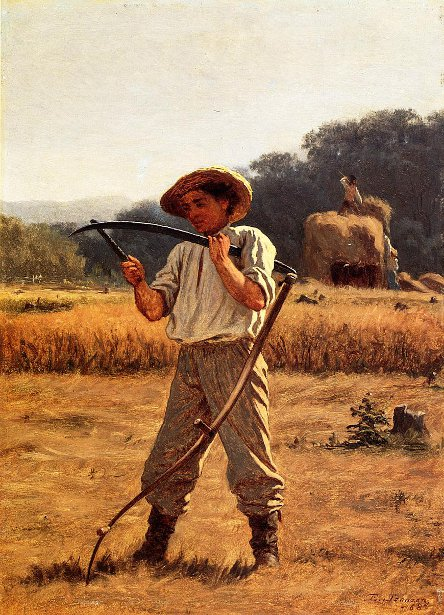 Man With Scythe
