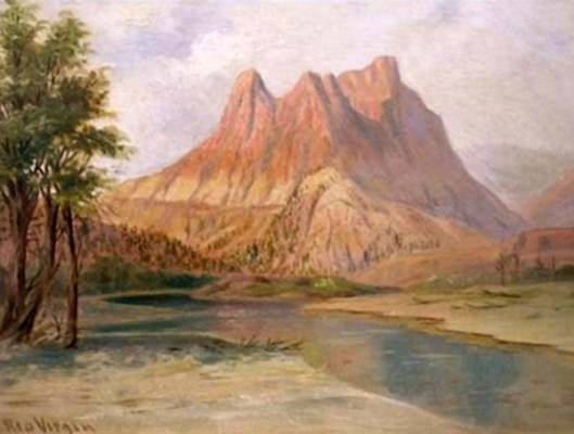 Rio Virgin And The Bluffs