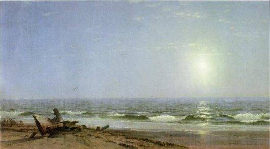 Sunlight On The Shore