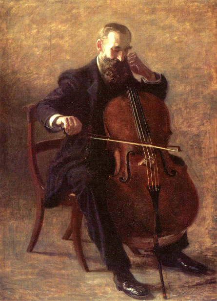 The Cello Player