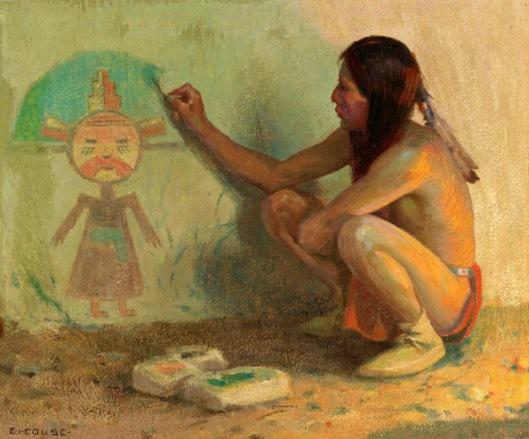 The Kachina Painter